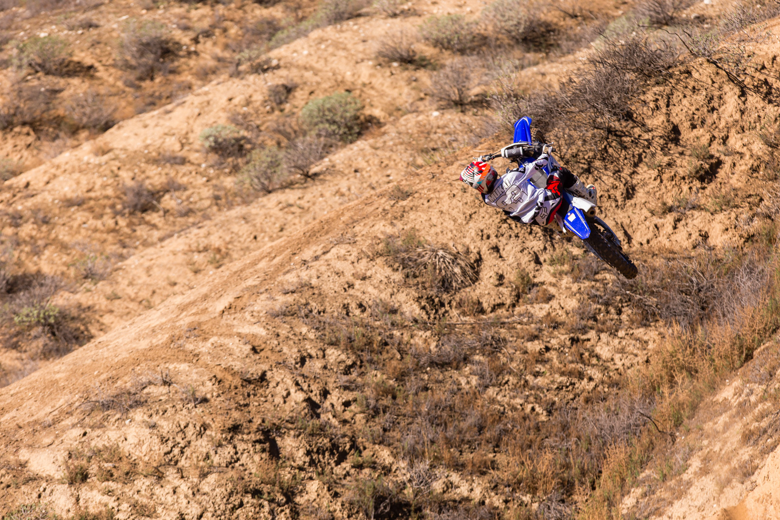 Kai Mukai - Rain in SoCal - To the Hills of Beaumont - Motocross Pictures - Vital MX