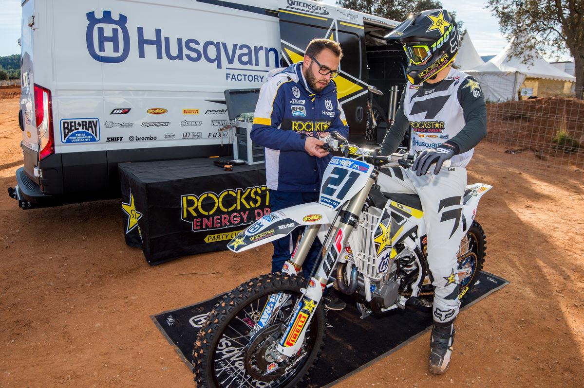 515ea7dc First Look: 2017 Rockstar Energy Husqvarna MXGP Team - First Look: 2017 Rockstar  Energy Husqvarna MXGP Team - Motocross Pictures - Vital MX