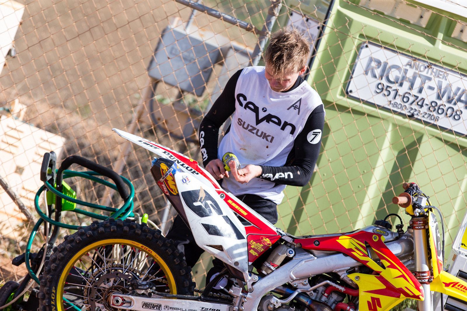 Jimmy Albertson - Supercross 2017: Prepping for Oakland - Motocross Pictures - Vital MX