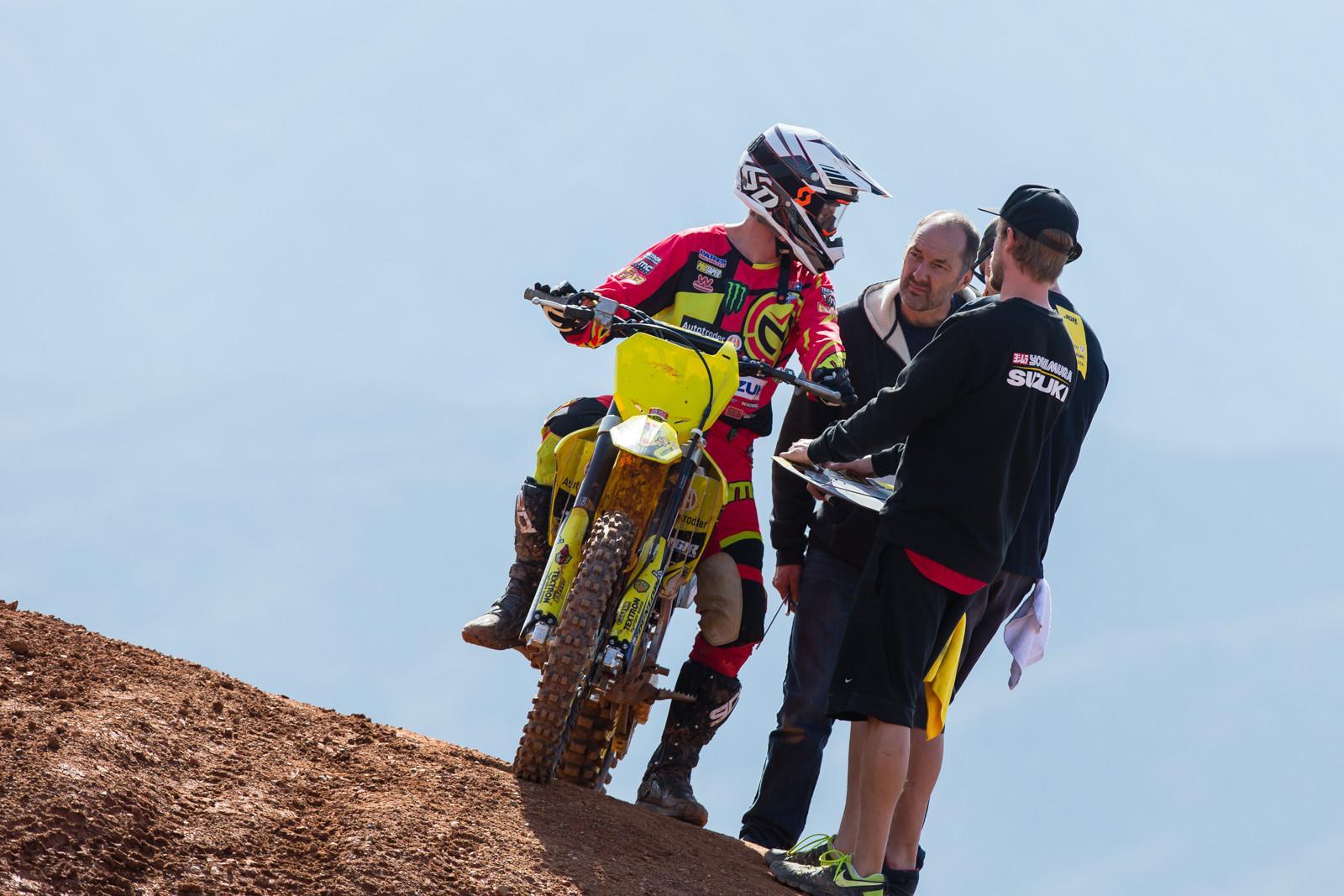 Phil Nicoletti - Supercross 2017: Prepping for Oakland - Motocross Pictures - Vital MX