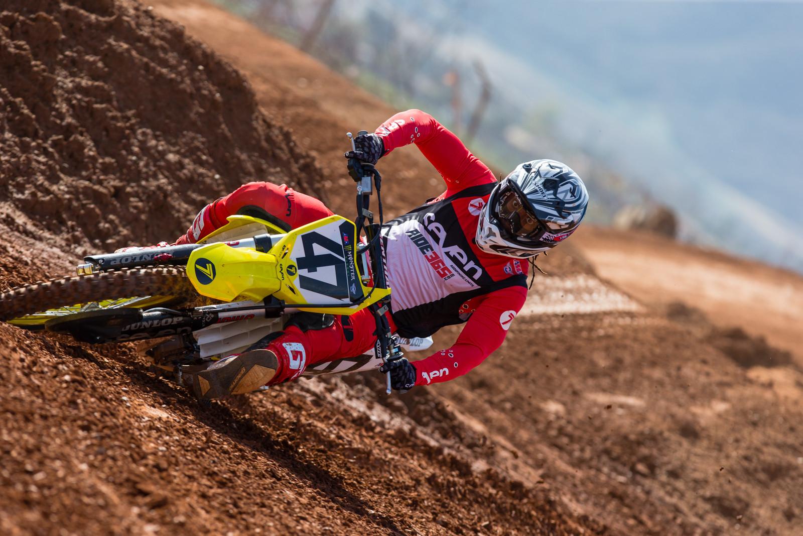 Malcolm Stewart - Supercross 2017: Prepping for Oakland - Motocross Pictures - Vital MX