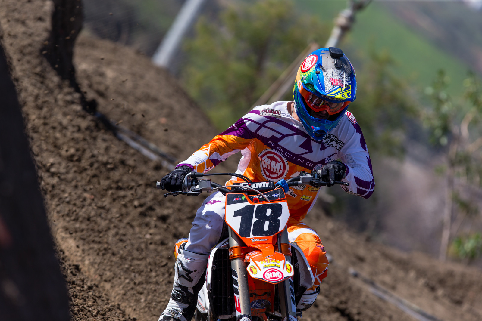 Davi Millsaps - Supercross 2017: Prepping for Oakland - Motocross Pictures - Vital MX