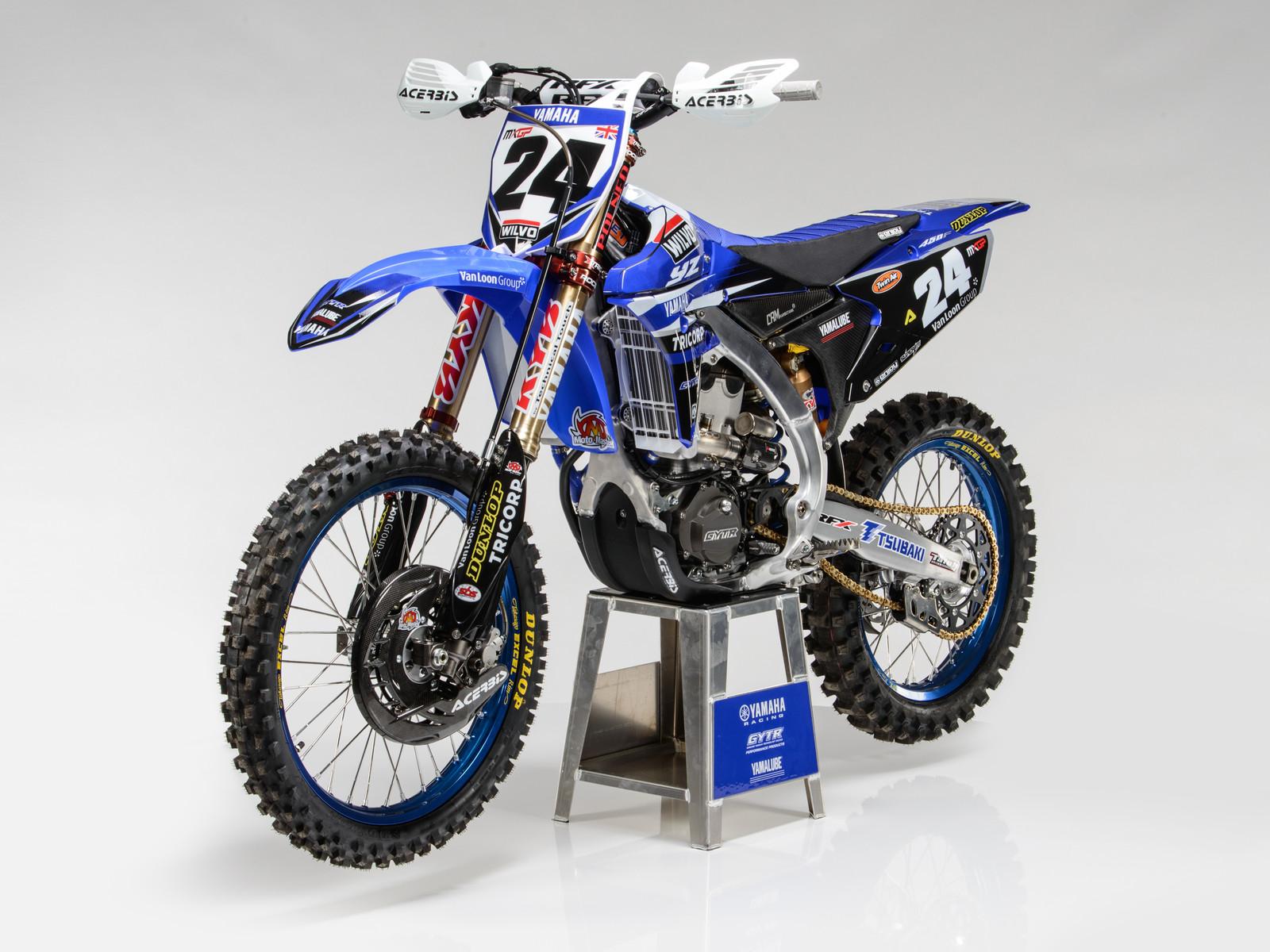Shaun Simpson's 2017 WILVO Yamaha YZ450FM - First Look: 2017 Monster Energy & Wilvo Yamaha MXGP Teams - Motocross Pictures - Vital MX