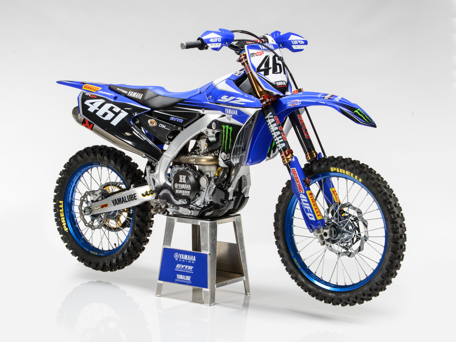 Romain Febvre's 2017 Monster Energy Yamaha Factory YZ450FM - First Look: 2017 Monster Energy & Wilvo Yamaha MXGP Teams - Motocross Pictures - Vital MX