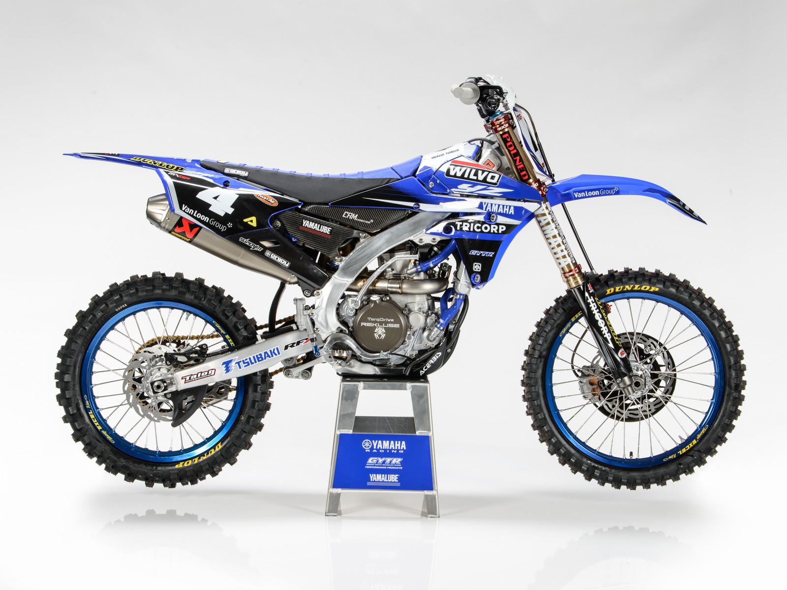 Arnaud Tonus' 2017 WILVO Yamaha YZ450FM - First Look: 2017 Monster Energy & Wilvo Yamaha MXGP Teams - Motocross Pictures - Vital MX