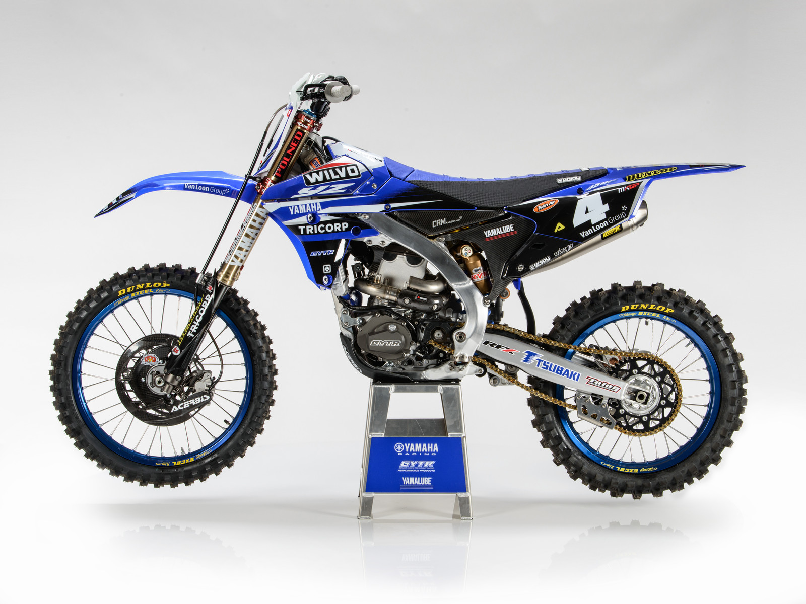 Arnaud Tonus' 2017 WILVO Yamaha YZ450FM - First Look: 2017 Monster Energy & Wilvo Yamaha MXGP Teams - Motocross Pictures - Vital MX