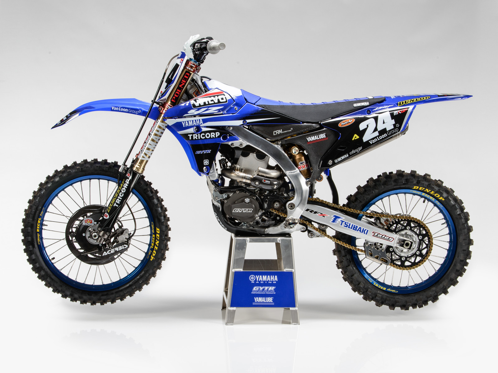 Shaun Simpson's 2017 WILVO Yamaha YZ450FM - First Look: 2017 Monster Energy & Wilvo Yamaha MXGP Teams - Motocross Pictures - Vital MX