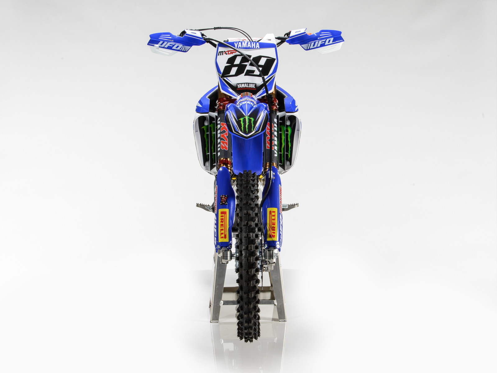 Jeremy van Horebeek's 2017 Monster Energy Yamaha Factory YZ450FM - First Look: 2017 Monster Energy & Wilvo Yamaha MXGP Teams - Motocross Pictures - Vital MX