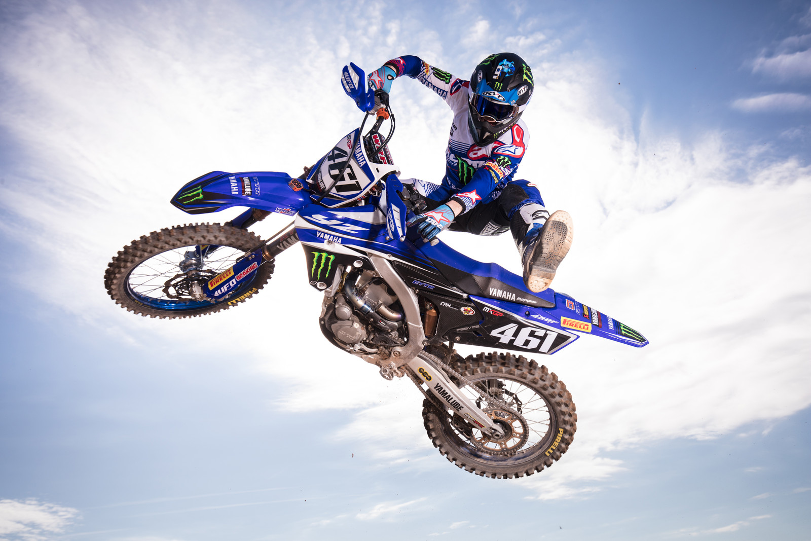 Romain Febvre - First Look: 2017 Monster Energy & Wilvo Yamaha MXGP Teams - Motocross Pictures - Vital MX