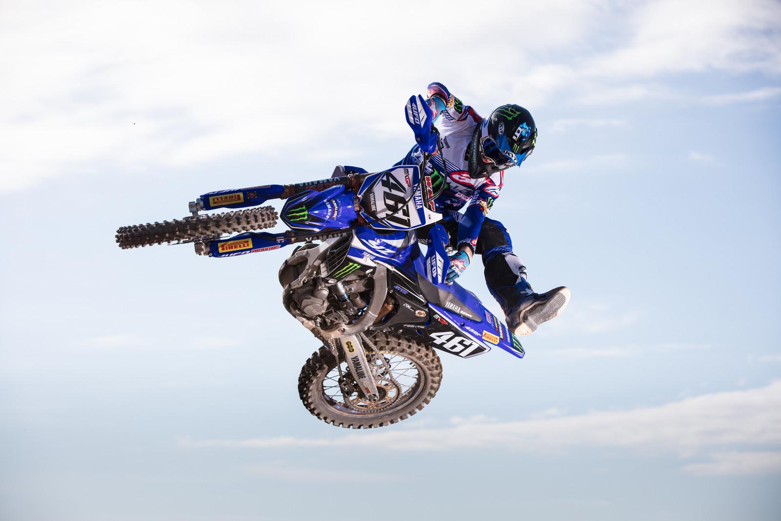 Romain Febvre - First Look: 2017 Monster Energy & Wilvo Yamaha MXGP Teams - Motocross Pictures - Vital MX