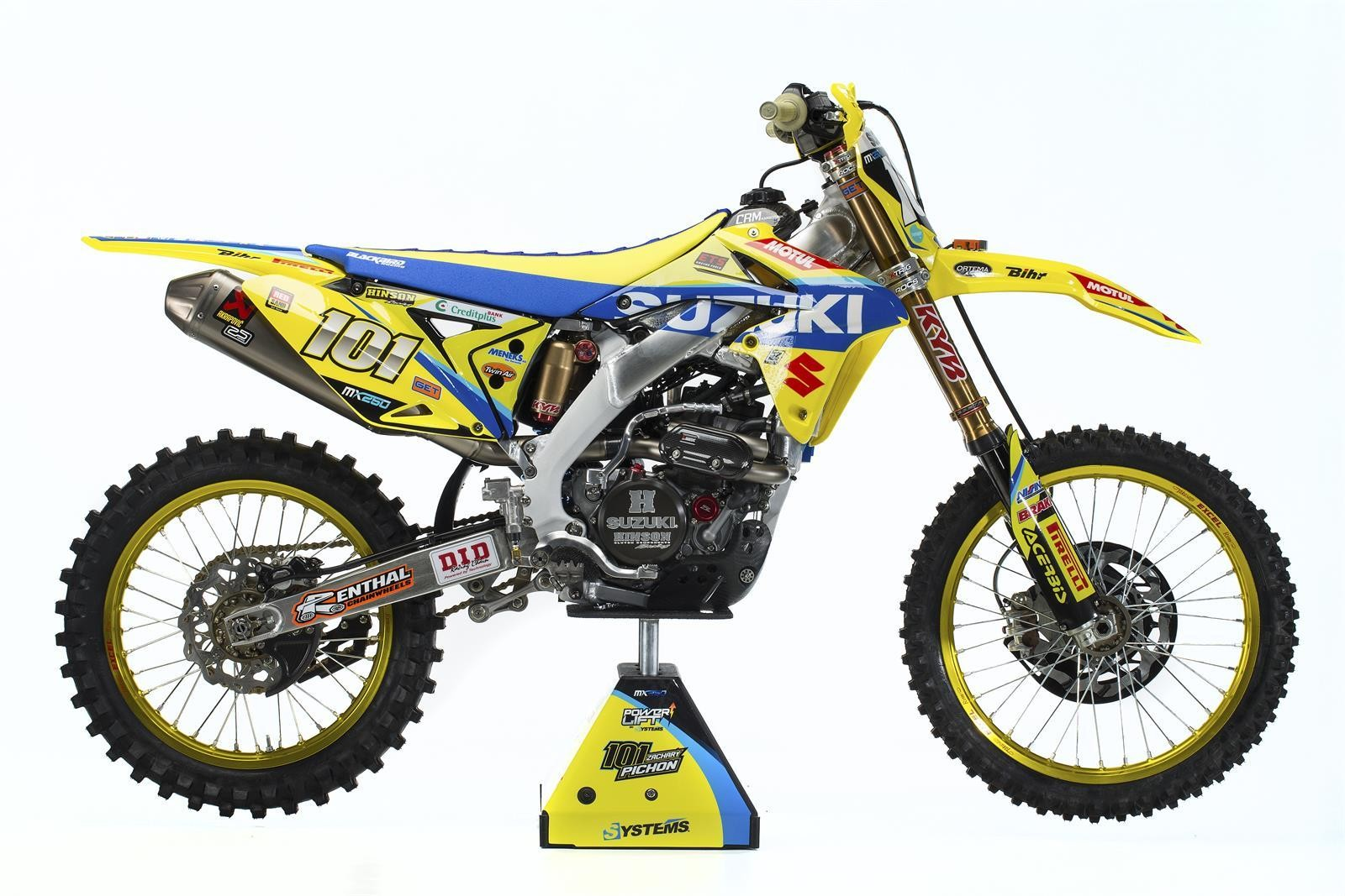 Zachary Pichon's 2017 Suzuki World MX2 RM-Z250 - First Look: 2017 Suzuki World MX2 Team - Motocross Pictures - Vital MX