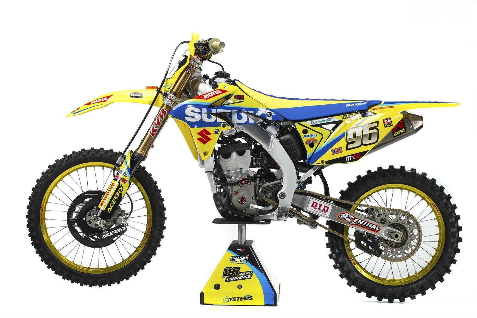 Hunter Lawrence's 2017 Suzuki World MX2 RM-Z250 - First Look: 2017 Suzuki World MX2 Team - Motocross Pictures - Vital MX