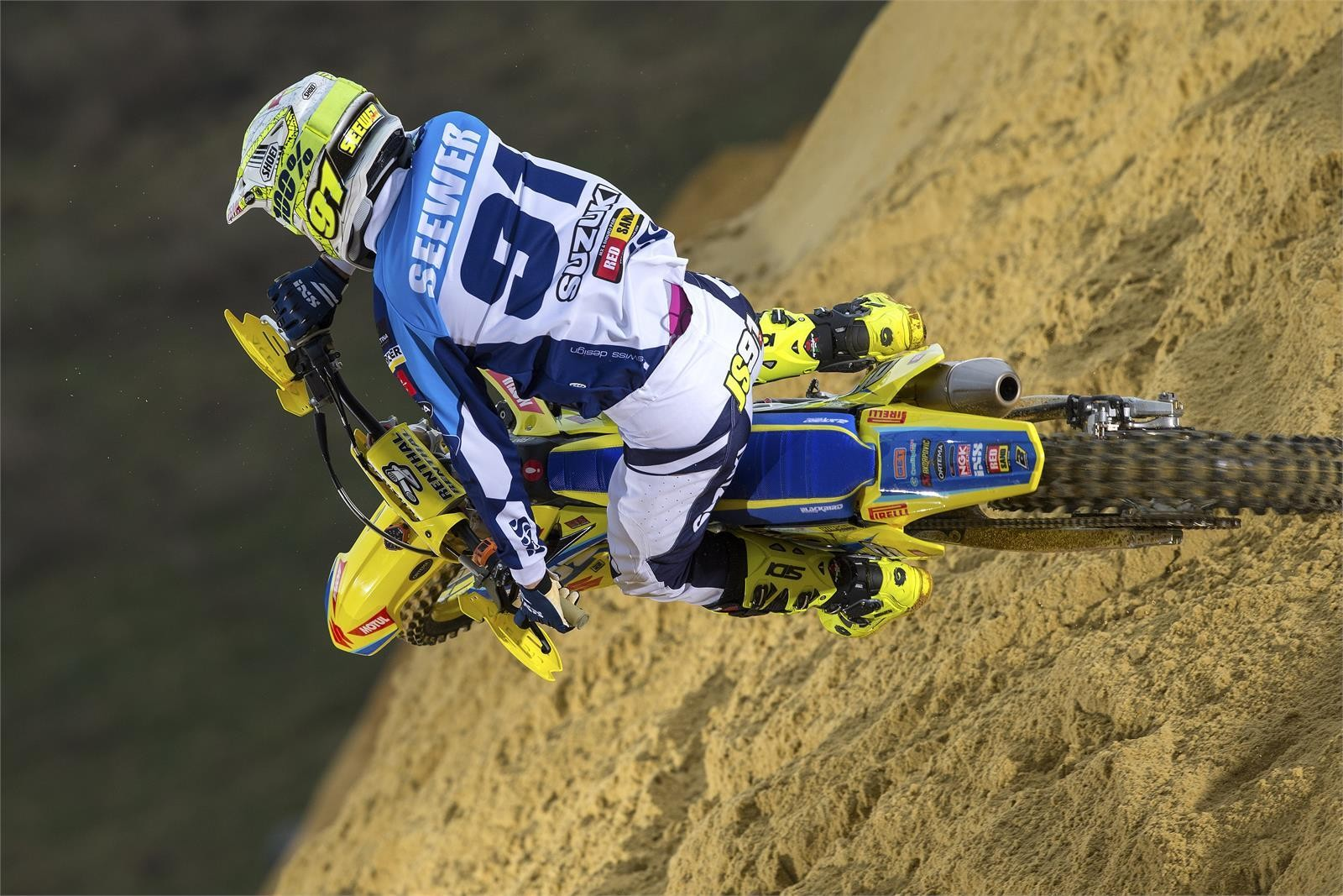Jeremy Seewer - First Look: 2017 Suzuki World MX2 Team - Motocross Pictures - Vital MX
