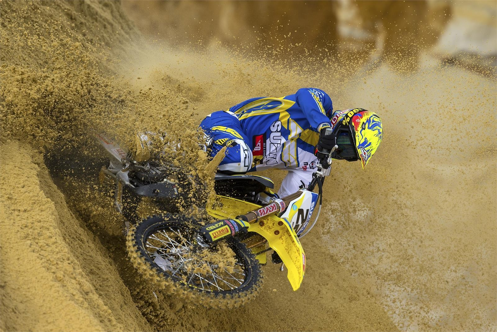 Kevin Strijbos - First Look: 2017 Suzuki World MXGP Team - Motocross Pictures - Vital MX