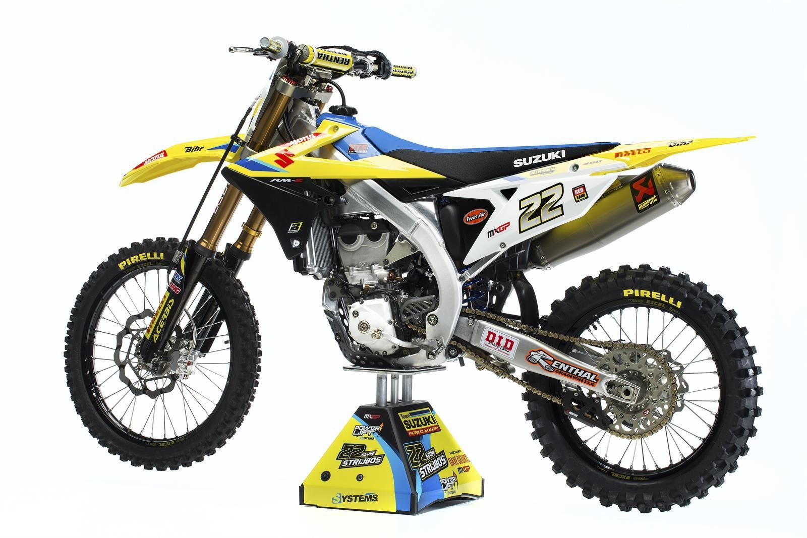 Kevin Strijbos 2018 Suzuki World MXGP RM-Z450WS - First Look: 2017 Suzuki World MXGP Team - Motocross Pictures - Vital MX