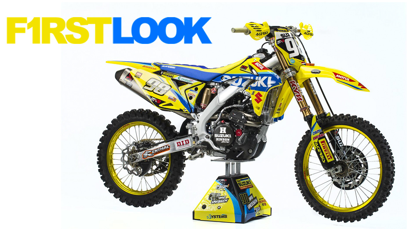 First Look: 2017 Suzuki World MX2 Team - First Look: 2017 Suzuki World MX2 Team - Motocross Pictures - Vital MX