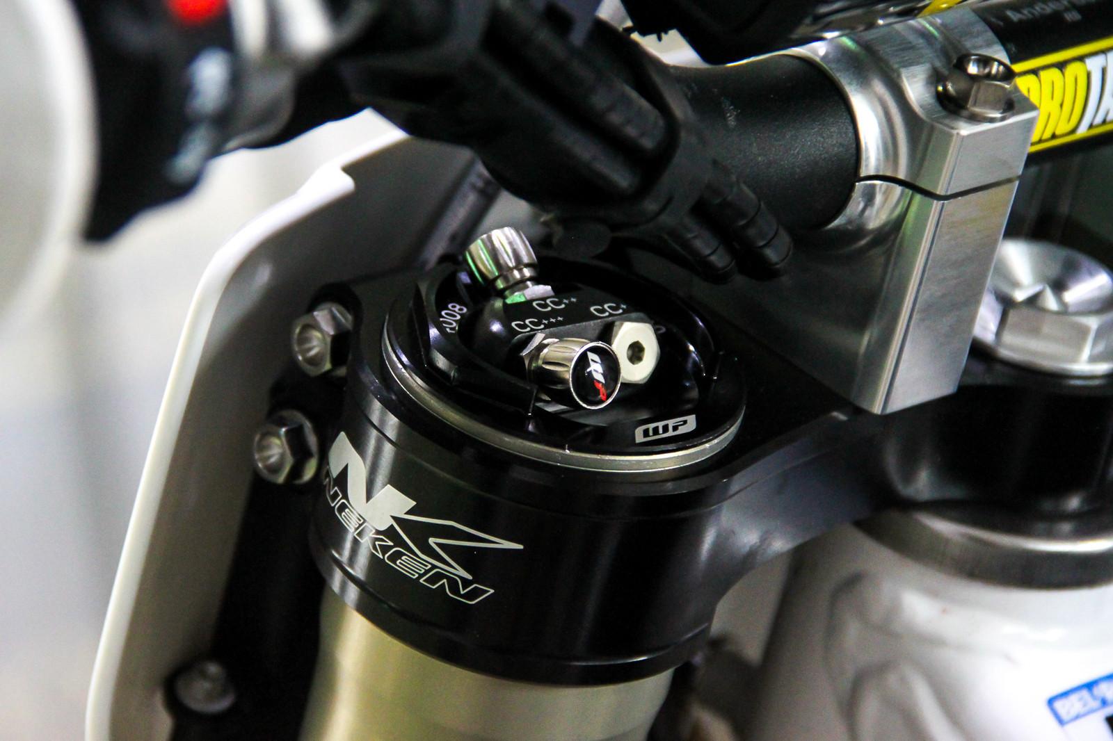 WP Air Forks/Chambers - Vital MX Pit Bits: 2017 MXGP of Qatar - Motocross Pictures - Vital MX