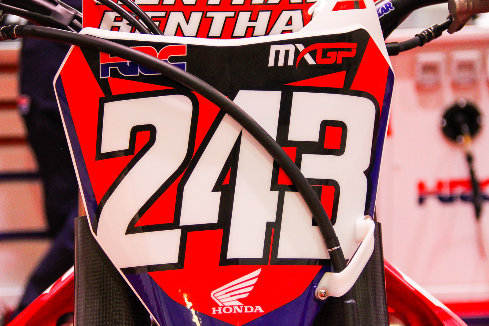 The Defending Champ, Tim Gajser - Vital MX Pit Bits: 2017 MXGP of Qatar - Motocross Pictures - Vital MX