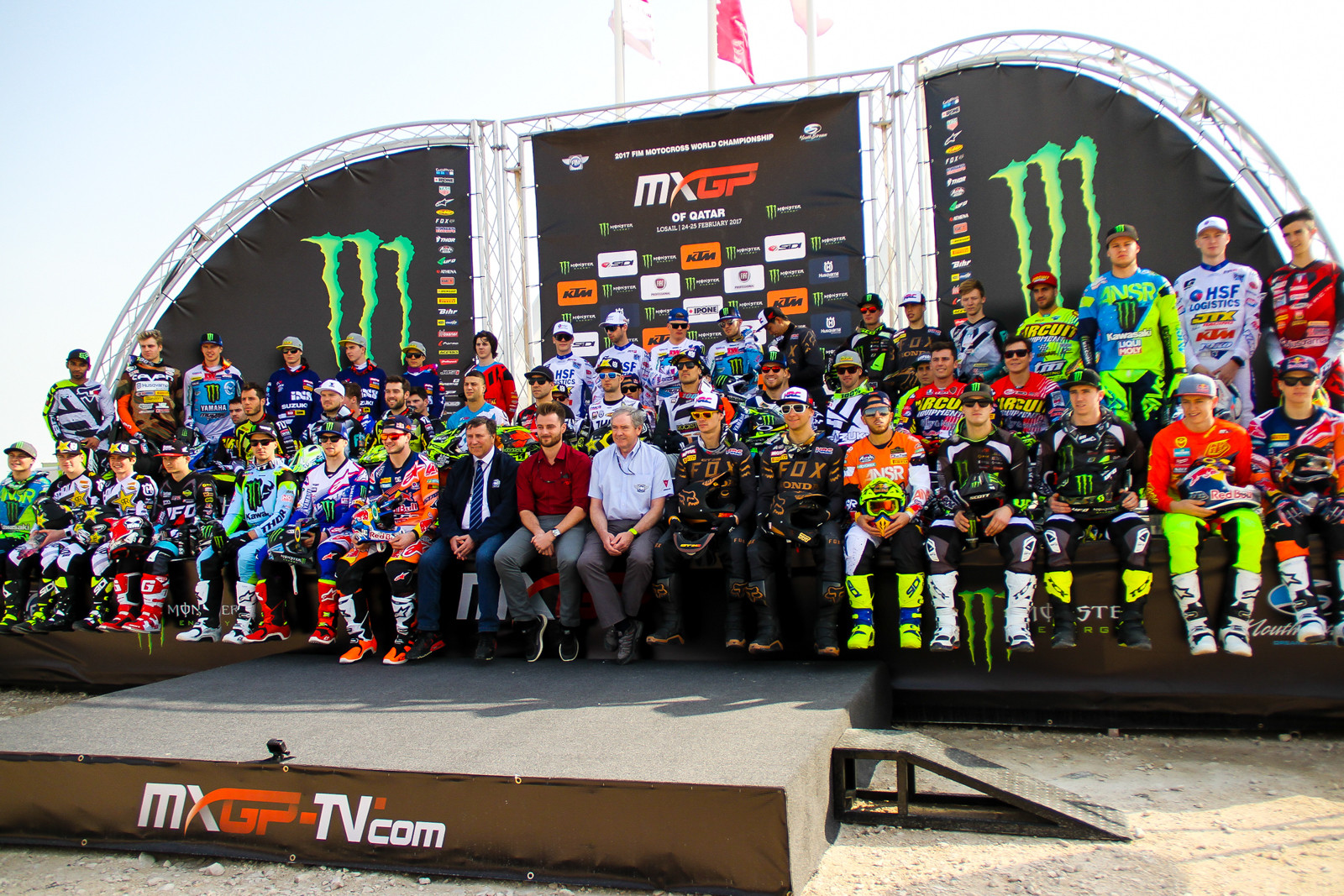 Riders of MXGP and MX2 - Photo Blast: 2017 MXGP of Qatar - Motocross Pictures - Vital MX