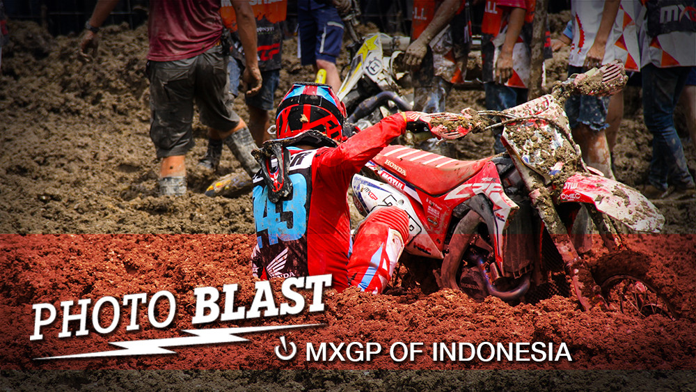 Photo Blast: 2017 MXGP of Indonesia - The Mud - Photo Blast: 2017 MXGP of Indonesia - Motocross Pictures - Vital MX
