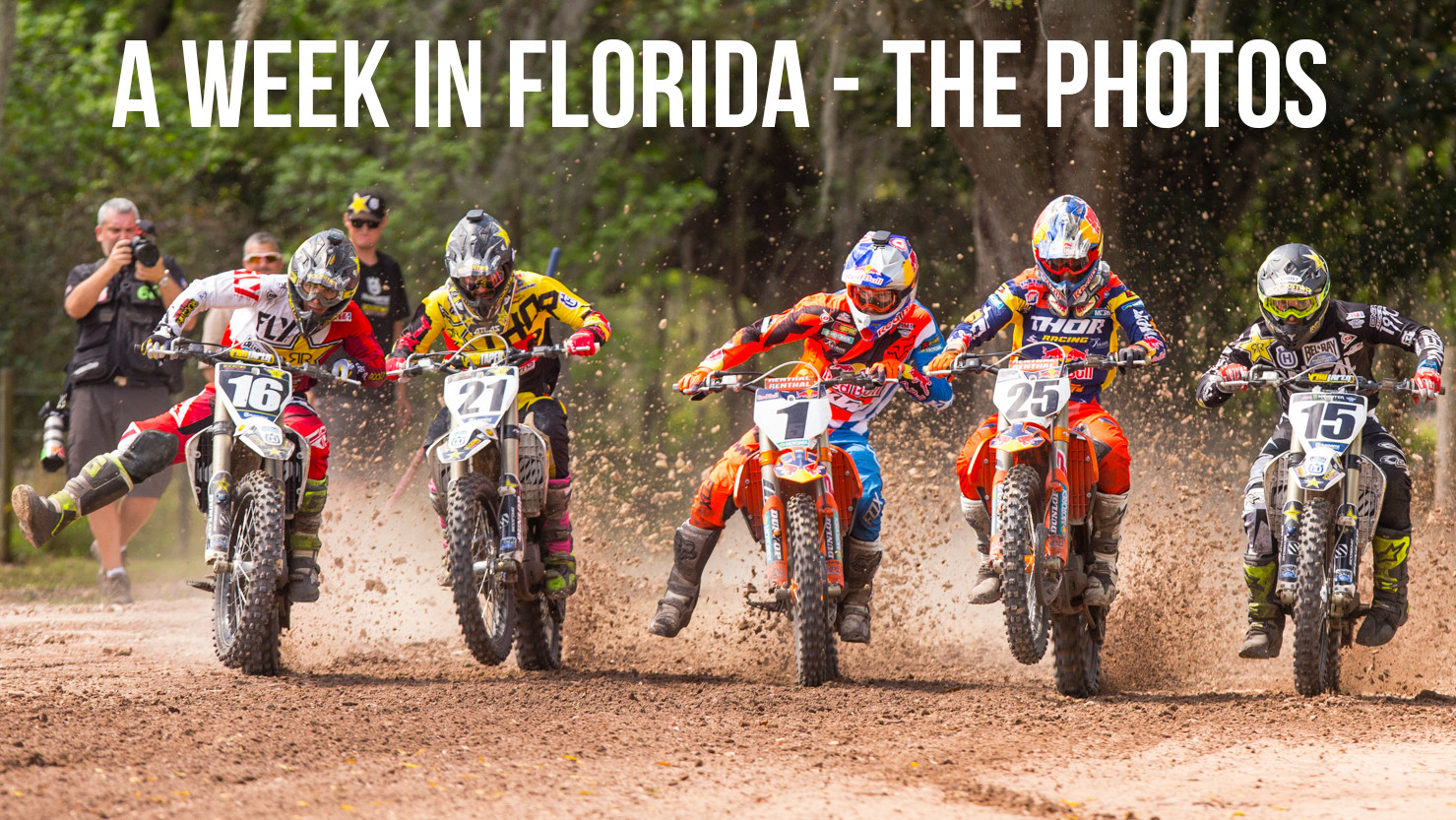 A Week in Florida - The Photos - A Week in Florida Prepping for the Daytona Supercross - Motocross Pictures - Vital MX