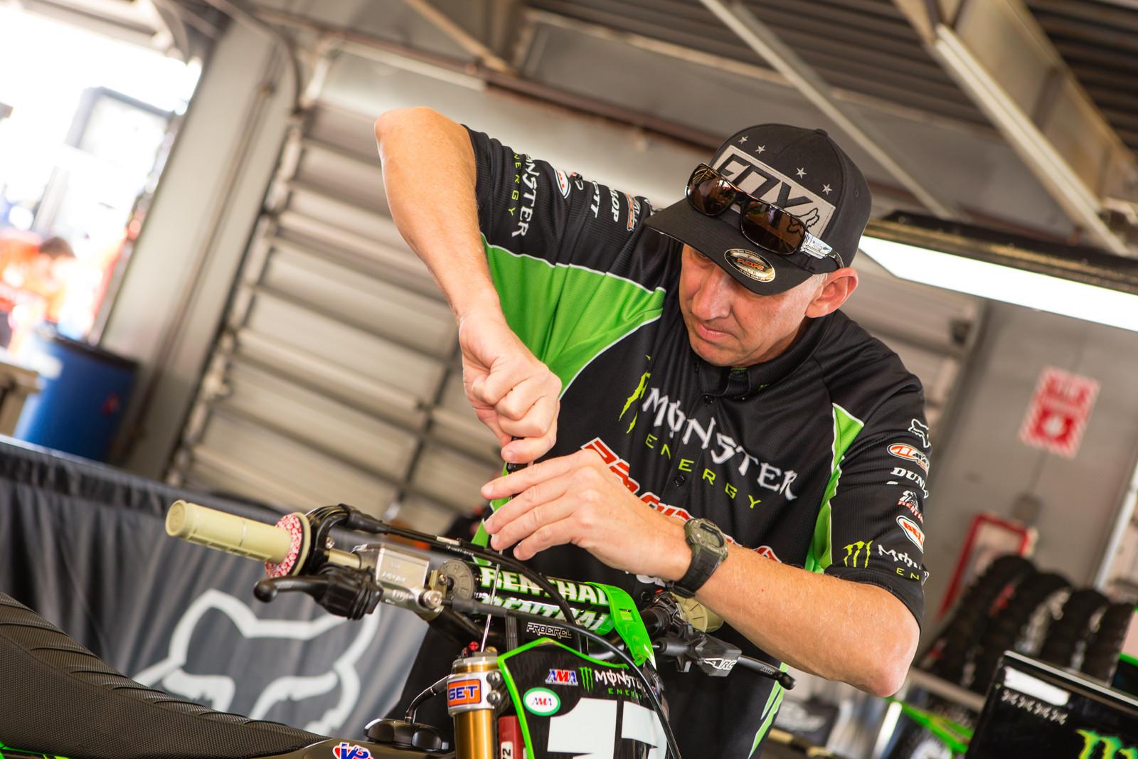 """Jim """"Bones"""" Bacon - Vital MX Pit Bits: Daytona Supercross - Motocross Pictures - Vital MX"""