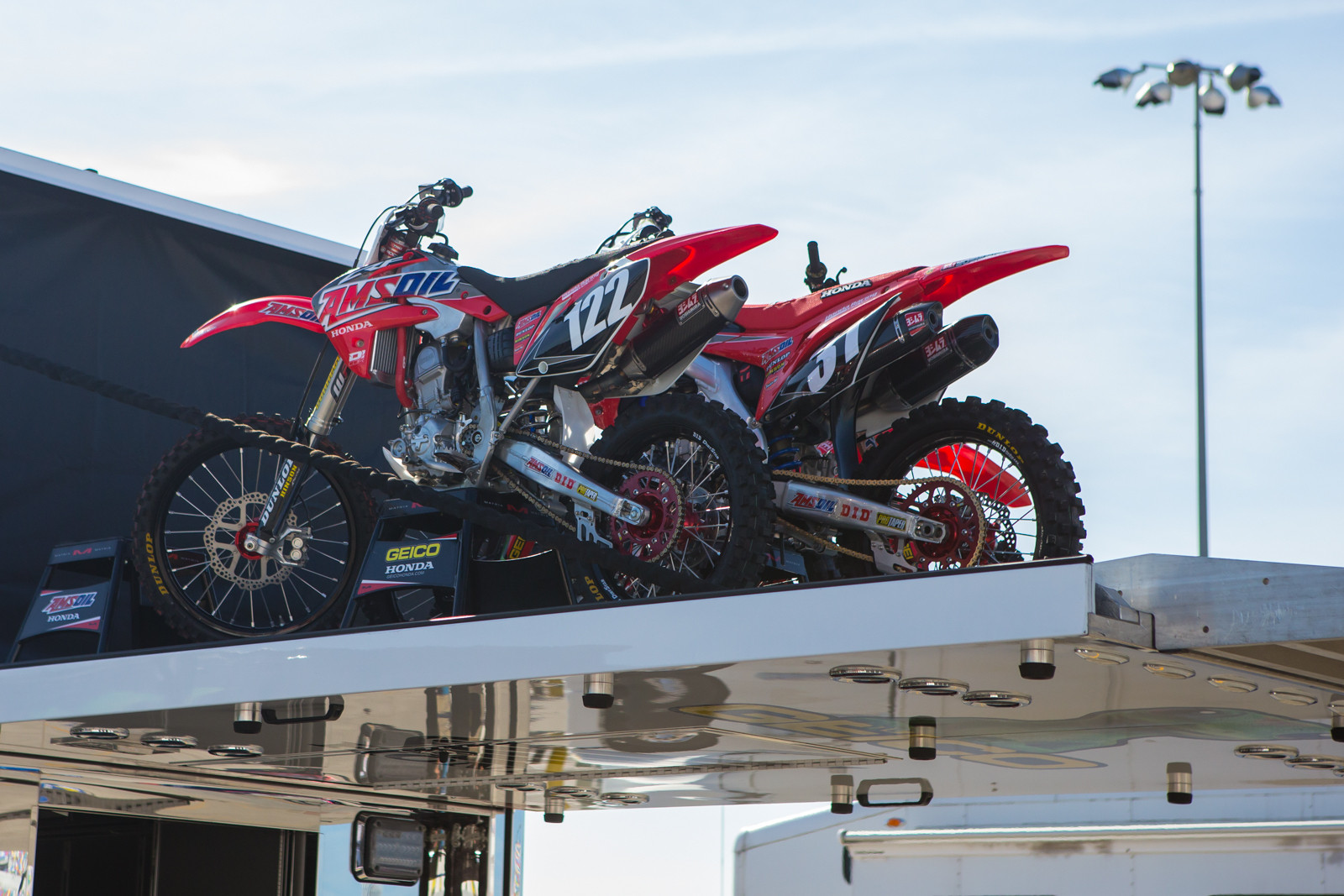 Factory Connection Honda - Vital MX Pit Bits: Daytona Supercross - Motocross Pictures - Vital MX