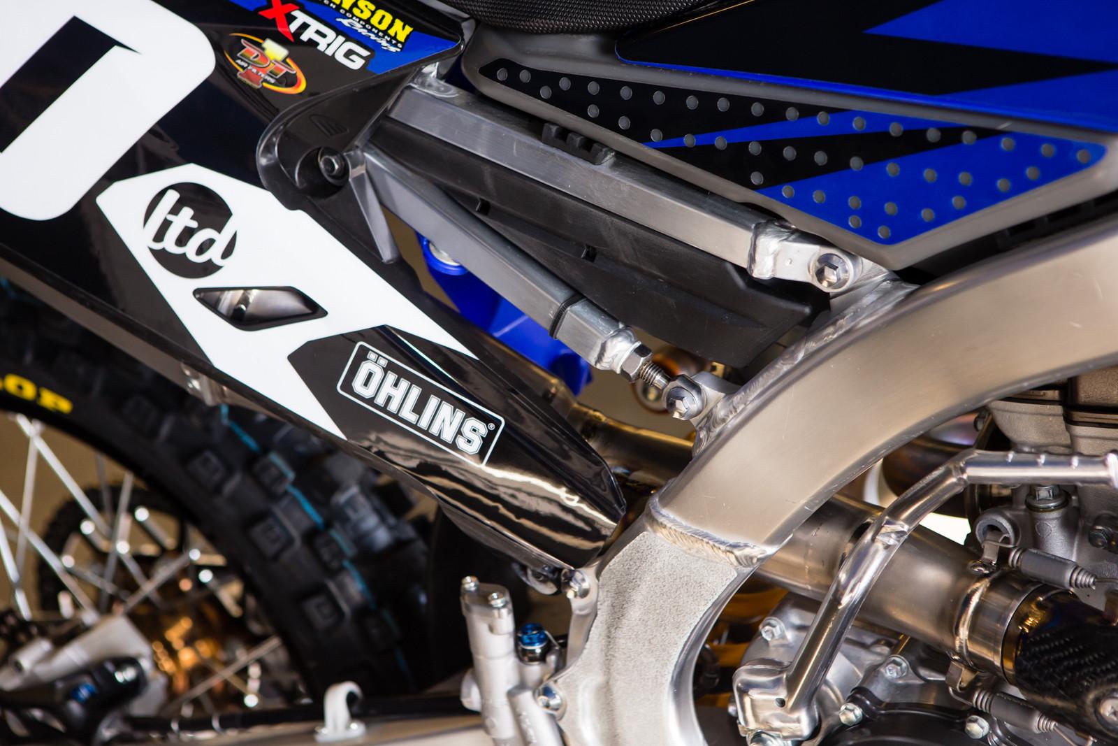 Traders/JGR Subframe - Vital MX Pit Bits: Daytona Supercross - Motocross Pictures - Vital MX