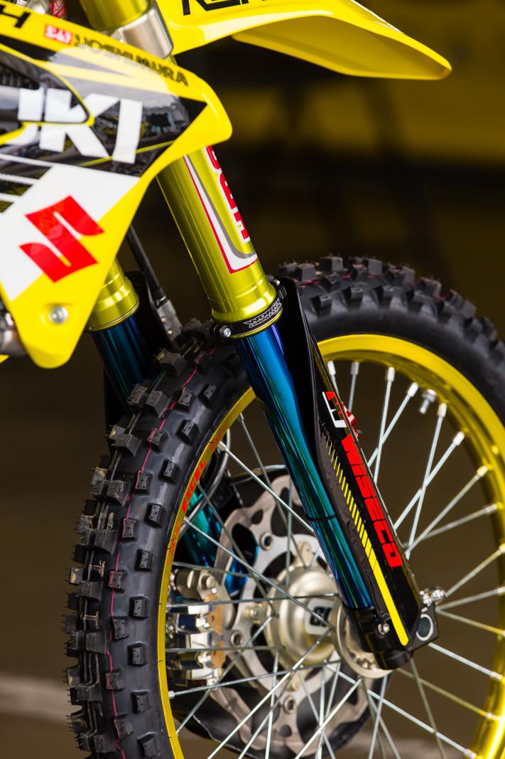 Fork Coatings - Vital MX Pit Bits: Daytona Supercross - Motocross Pictures - Vital MX