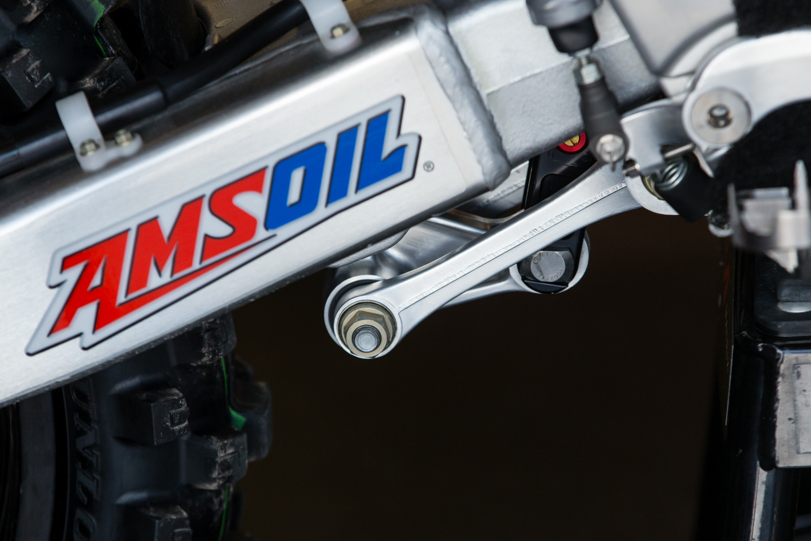 Stock Link Arm - Vital MX Pit Bits: Daytona Supercross - Motocross Pictures - Vital MX