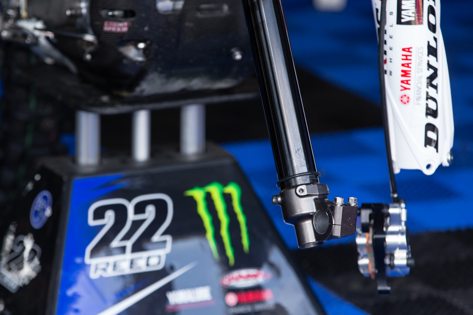 Chad Reed's Forks - Vital MX Pit Bits: Daytona Supercross - Motocross Pictures - Vital MX