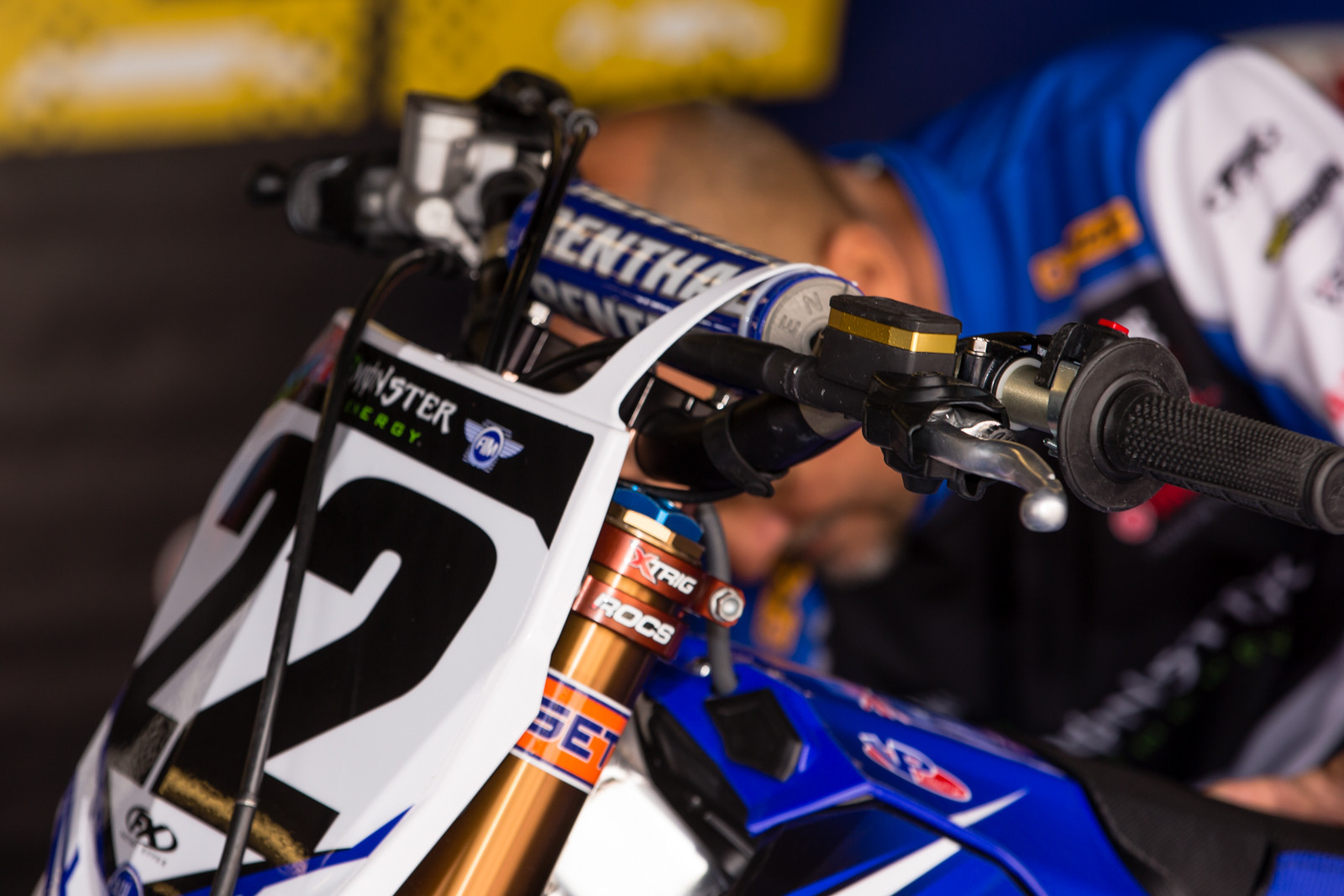 Chad Reed's Clutch - Vital MX Pit Bits: Daytona Supercross - Motocross Pictures - Vital MX