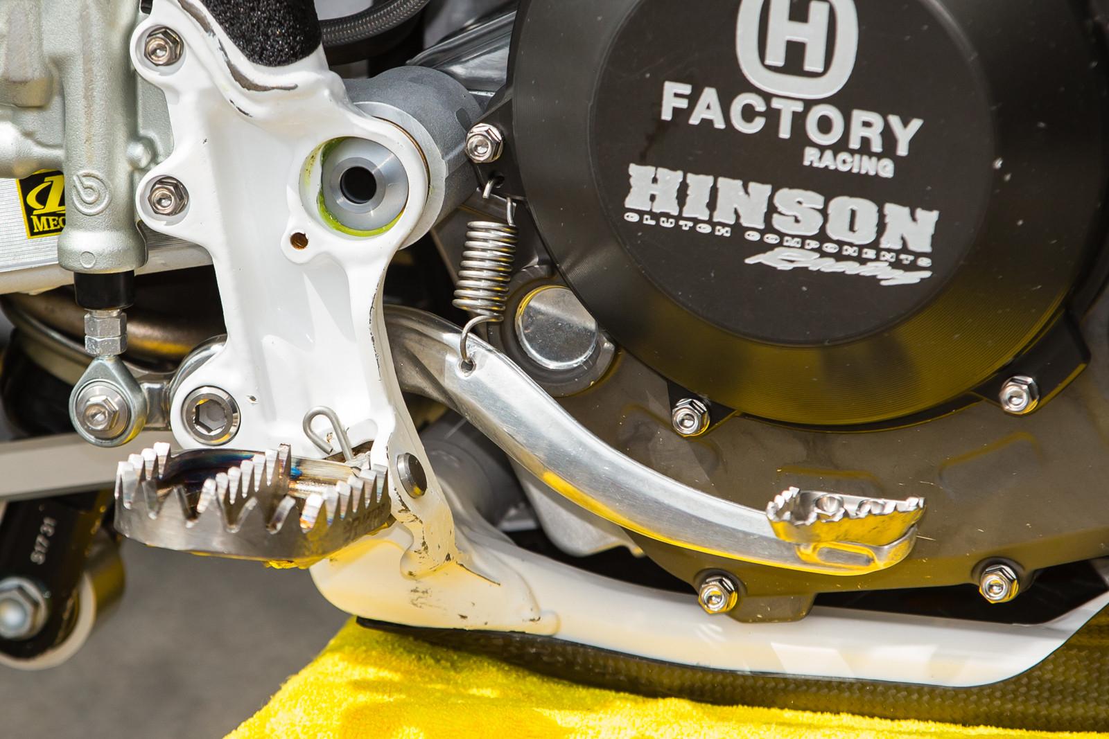 Dean Wilson's Husqvarna FC 450 - Vital MX Pit Bits: Daytona Supercross - Motocross Pictures - Vital MX