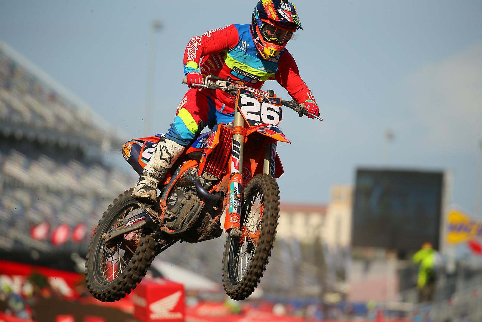 Alex Martin - Vital MX Pit Bits: Daytona Supercross - Motocross Pictures - Vital MX