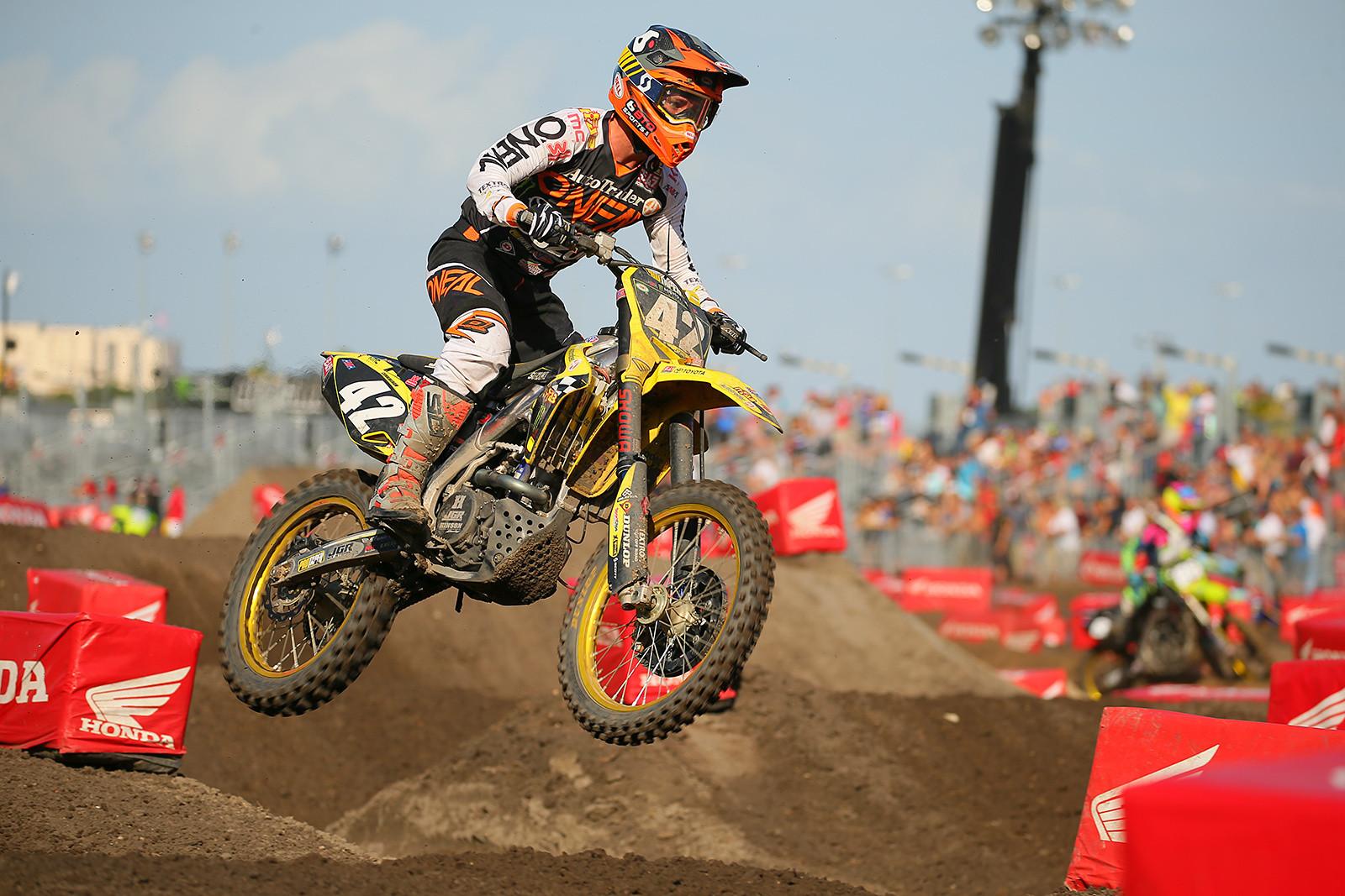 Kyle Cunningham - Vital MX Pit Bits: Daytona Supercross - Motocross Pictures - Vital MX