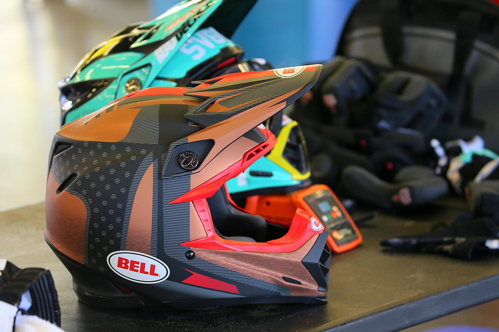 Bell Helmets - Vital MX Pit Bits: Daytona Supercross - Motocross Pictures - Vital MX