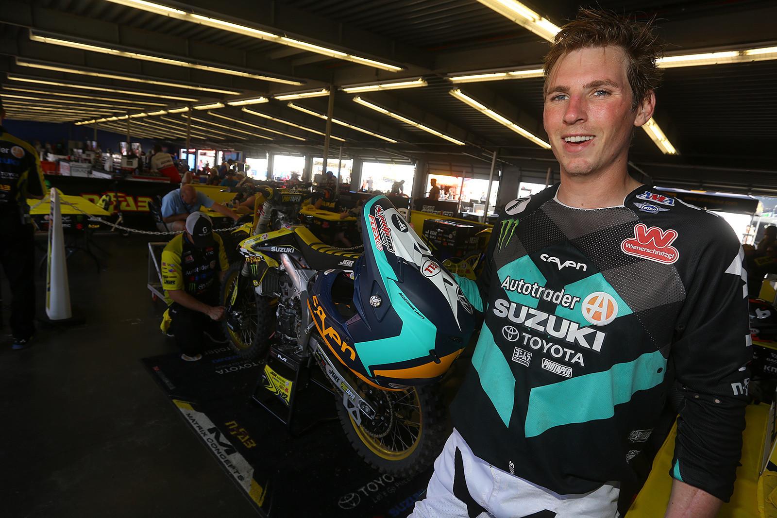 Jake Weimer - Vital MX Pit Bits: Daytona Supercross - Motocross Pictures - Vital MX