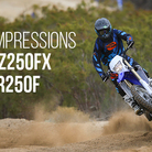 First Impressions: 2015 Yamaha YZ250FX and WR250F