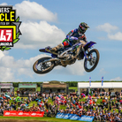 Winners' Circle: Romain Febvre 'I have some cracks in my ankle...I wasn't supposed to ride this weekend'