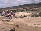 Justin Barcia and Jeremy McGrath Riding Happy