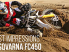 First Impressions: Riding the 2015 Husqvarna FC450