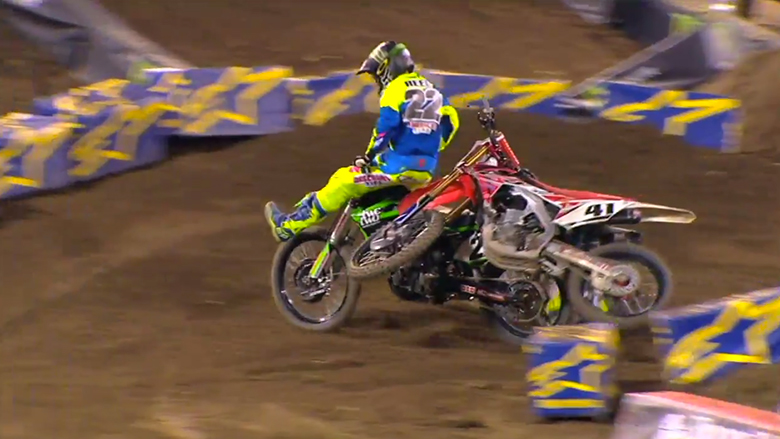 Replay: Chad Reed Black Flagged - Anaheim 2