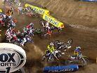 2015 Santa Clara Supercross - Huge Pile-Up 250 Main Event Start
