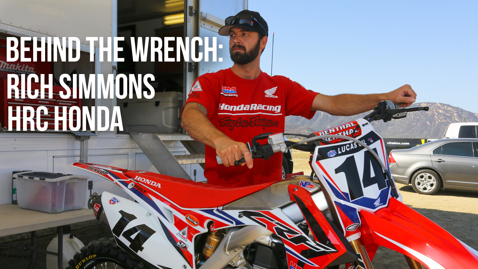 Behind the Wrench: Rich Simmons - HRC Honda