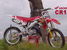 Jimmy Decotis Rips His CR125 Down Under Alongside a CR500