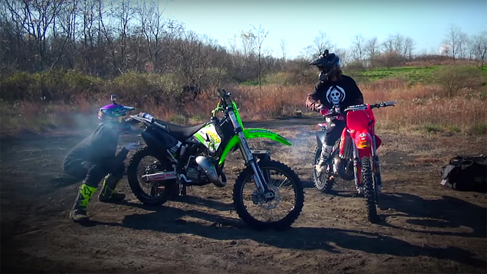 The Smoking Section - Darryn Durham and Tyler Bereman on 125s