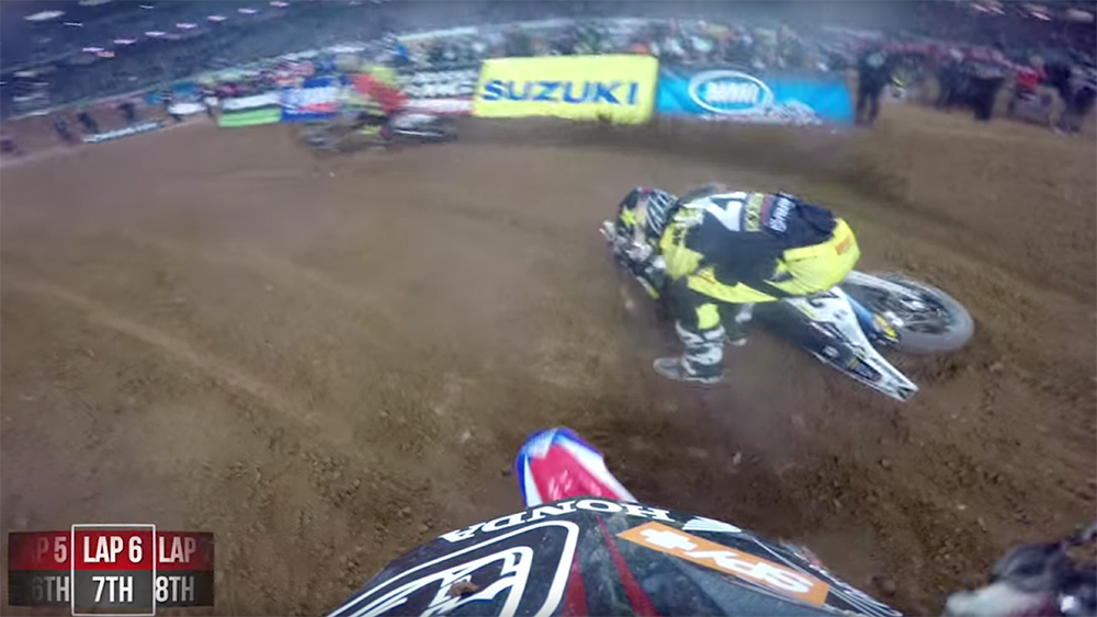 Onboard: Cole Seely Gets Cleaned Out by Jason Anderson Twice in Atlanta