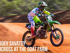 RAW: Joey Savatgy - Supercross at The Goat Farm