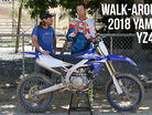Walk-Around: 2018 Yamaha YZ450F with Travis Preston and Michael Lindsay