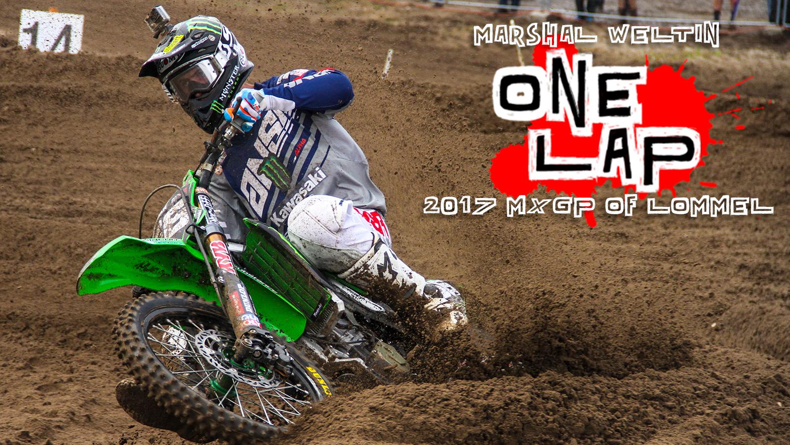 One Lap: Marshal Weltin - 2017 MXGP of Lommel